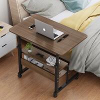【爆款】床边桌寝室简约床上电脑懒人桌家用简易卧室可移动升降小桌子学生