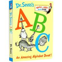 英文原版 Dr Seuss ABC 苏斯博士 儿童英文学习字母绘本 纸板书 廖彩杏推荐书单 词汇入门