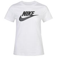 NIKE耐克女装运动短袖休闲透气圆领T恤BV6170-100