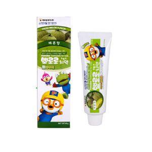 【2支装包邮包税】韩国Pororo宝露露小企鹅哈密瓜味儿童牙膏 防龋齿 90g