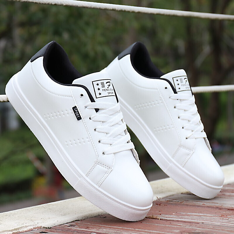 休闲鞋男鞋夏季小白鞋男士运动板鞋子男韩版潮流透气学生帆布鞋
