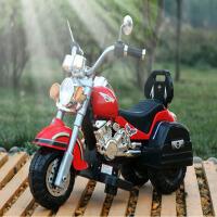 儿童电动三轮摩托车男女孩可充电手遥控车代宝宝玩具车可坐人