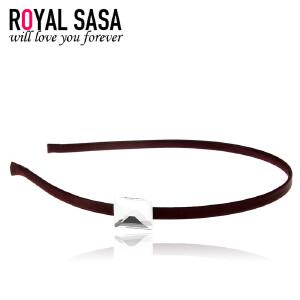 皇家莎莎RoyalSaSa简约发箍手工头箍女细发卡韩版甜美头饰发夹压发饰品