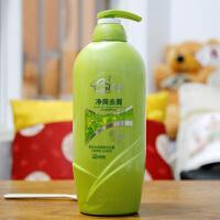 安安国际 银 杏 去屑柔顺养护发控油洗发水露1L 大瓶装家庭用
