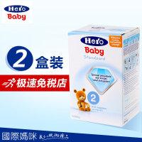 Hero Baby婴幼儿奶粉 荷兰本土herobaby奶粉2段(6-10个月适用)800g 两盒装(海外购)