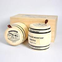 Wallenford�I原装进口牙买加蓝山咖啡豆114g*2 木桶礼盒装228g