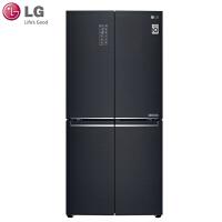 LG F528MC36 家用532L法式十字对开门四门变频电冰箱 门中门风冷无霜 除抑菌除味大容量 金属面板 黑色