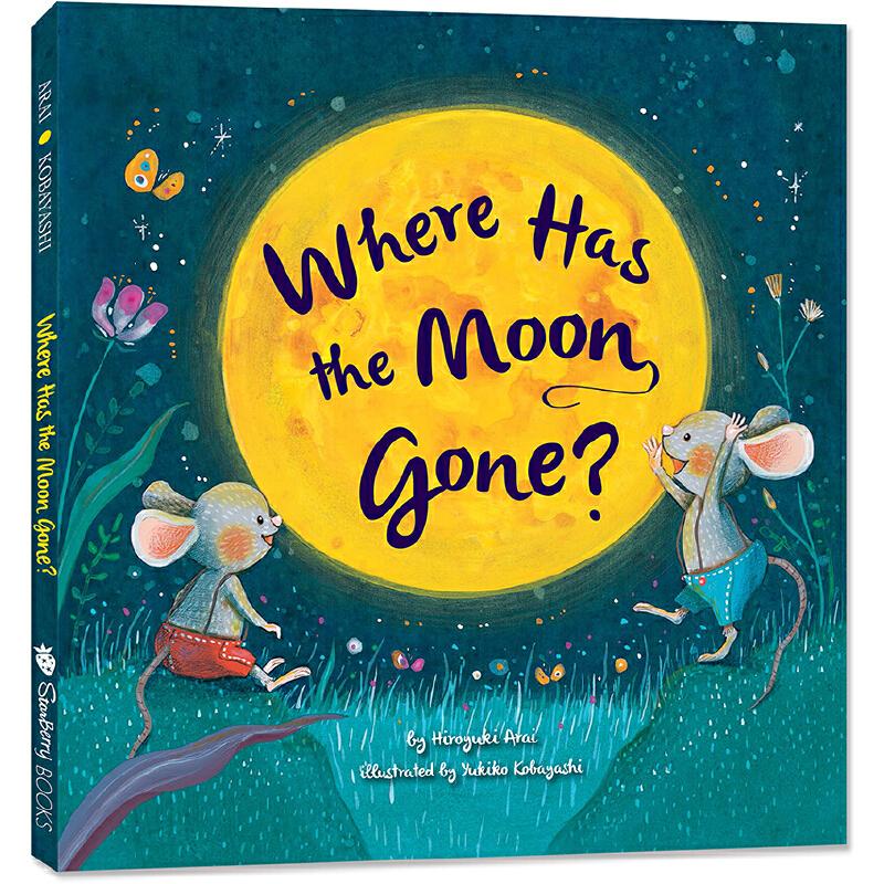 月亮去哪儿了?Where Has the Moon Gone?英文原版正版绘本,愉快而惊险的冒险故事,培养孩子好奇心、观察力,锻炼逻辑思考,学会勇敢、团结、自己动脑动手解决问题,从小习惯英文阅读。