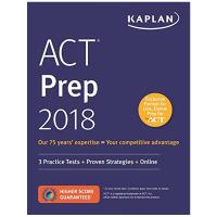 华研原版 美国英文高考书 英文原版 卡普兰ACT考试指南 备考策略 Kaplan ACT Prep 2018 全英文版