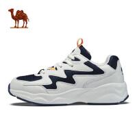 骆驼运动鞋女 春季 女款时尚休闲熊猫鞋休闲鞋透气耐磨跑鞋