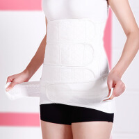 产后收腰束腹带 纯棉纱布剖腹顺产通用收腹带+盆骨带套装一件