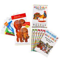 【中商原版】艾瑞卡尔经典绘本套装 英文原版 棕熊系列4册+分级读物6册 Brown Bear What Do You