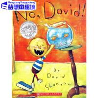 大卫不可以 英文原版绘本0 3 6岁 No David 凯迪克大奖 吴敏兰绘本123 第32本