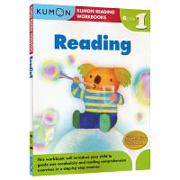 Kumon Reading Workbooks G1 公文式教育英文原版 阅读练习册 一年级 6-7岁 思维技能训练教