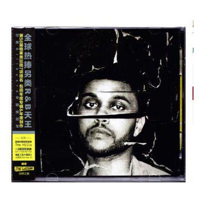原装正版 The Weeknd威肯:狂野之美 CD The Hills 音乐CD 车载 正版保证!闪电发货!包发票!