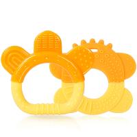 欧培 婴儿牙胶硅胶磨牙棒宝宝咬咬胶玩具器