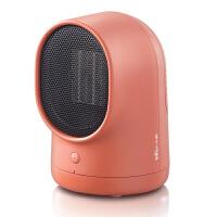 小熊(Bear)电暖器 家用迷你小型摇头台式暖风机 宿舍办公桌面速热电热取暖器 DNQ-A05C1