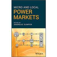 【预订】Micro And Local Power Markets 9781119434504