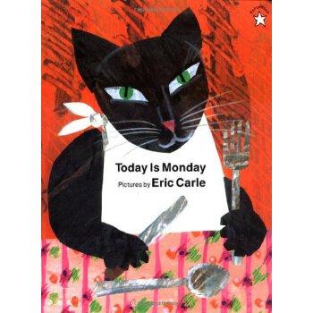 Today Is Monday 今天是星期一【英文原版童书 绘本、廖彩杏书单、吴敏兰书单、儿童启蒙读物】