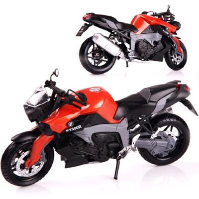美致 摩托车模型1 12仿真合金收藏摆件男孩礼物儿童玩具摩托车模