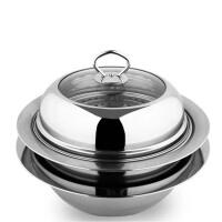 蒸锅不锈钢 2层 多功能家用双层火锅汤锅煤气电磁炉通用