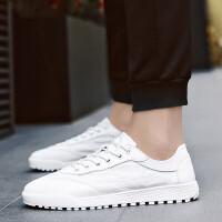 2019夏季男士休闲鞋子男鞋韩版潮夏季白鞋透气运动男鞋白色板鞋文艺小白鞋