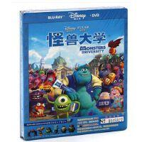 正版迪士尼动画电影 怪兽大学 高清蓝光BD+DVD光盘碟片1080P双语