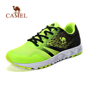 camel骆驼运动跑鞋 男女情侣款 减震轻便运动鞋 休闲透气跑步鞋