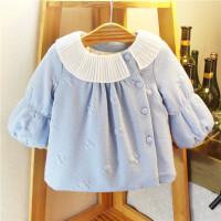 女童外套冬季婴儿上衣宝宝开衫