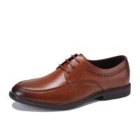 骆驼牌男鞋 秋季新款品质商务正装男皮鞋办公室舒适系带