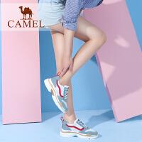 Camel/骆驼女鞋2018春新款复古原宿运动鞋女时尚单鞋厚底ins跑步鞋韩版休闲单鞋子女