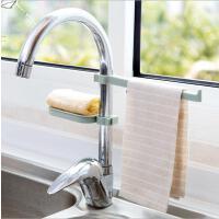 水龙头沥水置物架水池收纳架厨房用品水槽海绵抹布沥水架组合