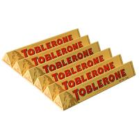 瑞士三角 进口巧克力 Toblerone三角牛奶巧克力50g*6条 瑞士进口