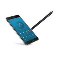手写笔三星手机触控笔Galaxy Note9/Note8/Note5/6/7/4主动式电 爵士黑【粗细两用多功能】金属