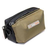 相机包长焦微单包腰包配件包SX720 HX60 P7800 LX7手包 军绿色
