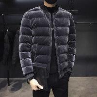 冬季加厚棒球服棉衣外套男士短款休闲帅气棉袄学生韩版潮男装
