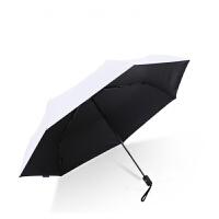 自动太阳伞女防紫外线防晒赛维纳全自动遮阳伞黑胶折叠太阳伞防晒防紫外线女三折晴雨伞