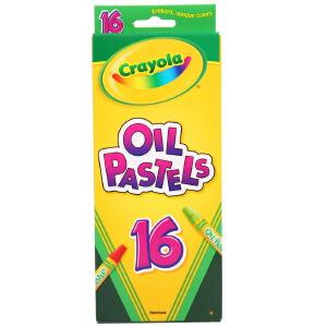 当当自营Crayola 绘儿乐 16色油画棒 52-4616