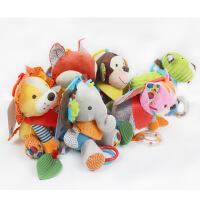 毛绒公仔 skkbaby可水洗毛绒玩具 0-1岁婴儿宝宝环保健康动物玩偶