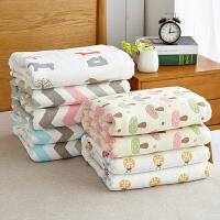 【领券立减100】六层加厚纯棉纱布毛巾被全棉单人双人婴儿童毯宝宝夏凉被盖毯空调毛巾毯子