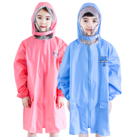 kk树儿童雨衣男女童小学生宝宝雨披带书包位幼儿小孩雨衣加厚时尚