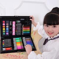 儿童水彩笔套装幼儿园画画绘画彩色笔手绘宝宝可水洗72色水彩画笔初学者彩笔套盒颜色笔涂鸦蜡笔