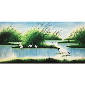 小蒙《人间仙境》著名画家