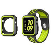 适用Apple watch手表2耐克NIKE苹果运动硅胶表带iwatch女38男42MM