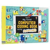 【首页抢券300-100】Usborne My First Computer Coding Book using Scr