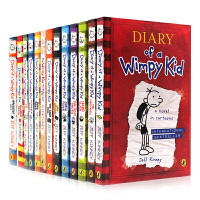Diary of a Wimpy Kid 14册套装 小屁孩日记英文原版 1-13+do it your self 1
