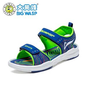 大黄蜂童鞋 男童凉鞋2017新款夏季韩版儿童沙滩鞋 小男孩5岁9大童