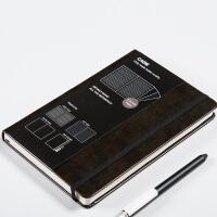 卡杰商务笔记本创意日韩文具日记本绑带手帐办公记录记事本可定制