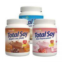保税区直发 美国Naturade Total Soy营养代餐粉奶昔混合口味(巧克力&草莓&香草味)540g*3