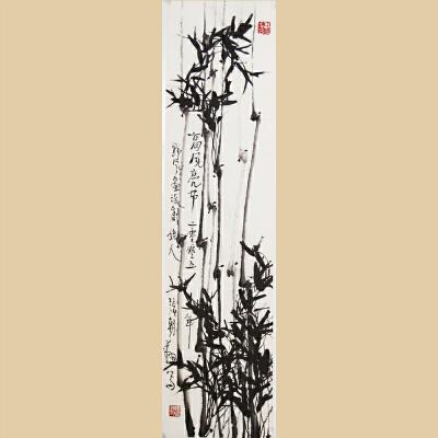 名家书画-张朝翔《高风亮节》中国国画院副院长,中国美协会员【真迹RW376】
